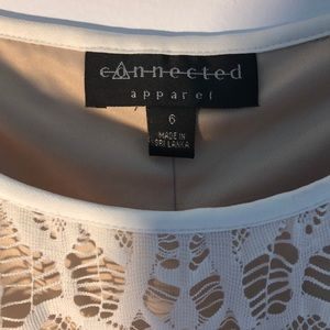 connected apparel Dresses - White Lace Dress 6